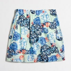 ❣ J Crew Women's S Small Floral Mini Skirt